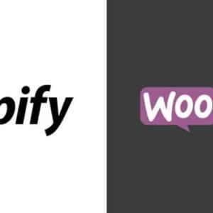 shopify ou woocommerce