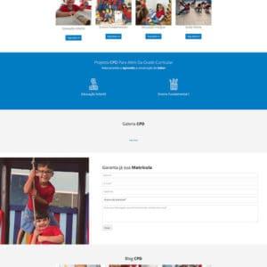 site colégio infantil