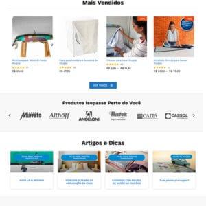 site de vendas