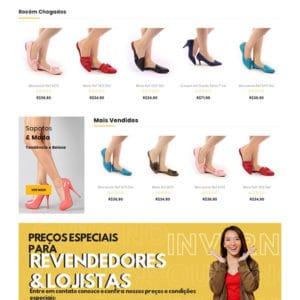 site venda de sapato