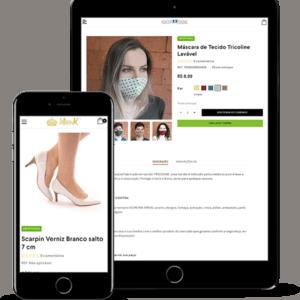loja online responsiva