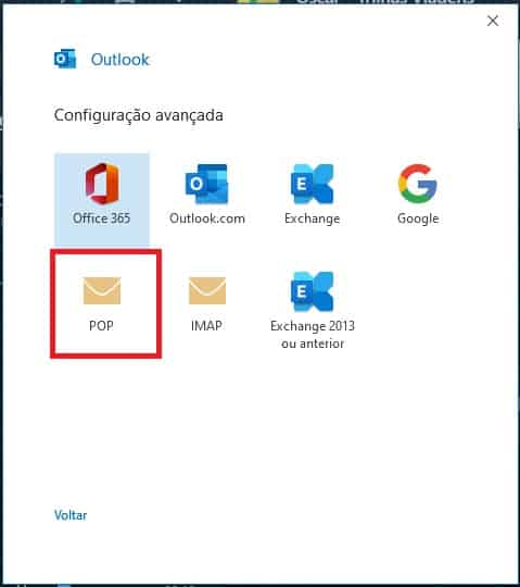 Como configurar seu e-mail no Outlook / Thunderbird / Windows LiveMail? 3