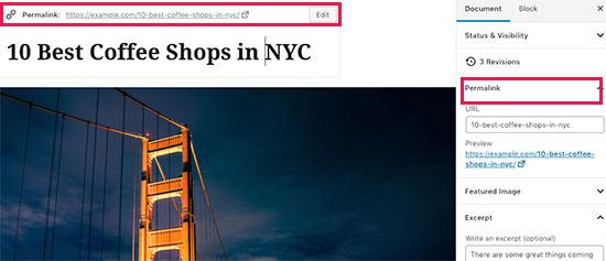 Como adicionar um post no WordPress e otimizar o SEO (Gutenberg) 12