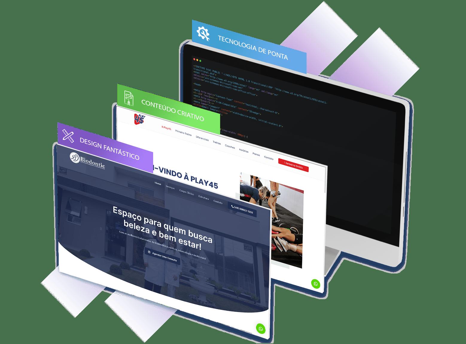 Criação de Sites Institucionais | GSP Sites 1