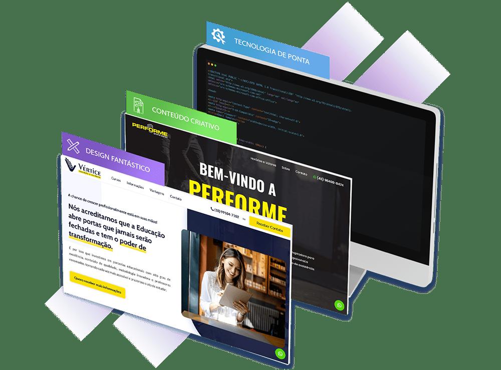Criação de Landing Pages | GSP Sites 1