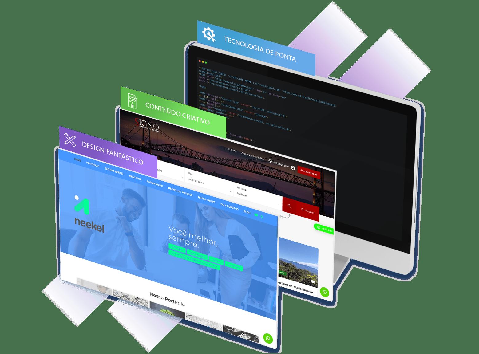 Criação de Sites Profissionais | GSP Sites 1