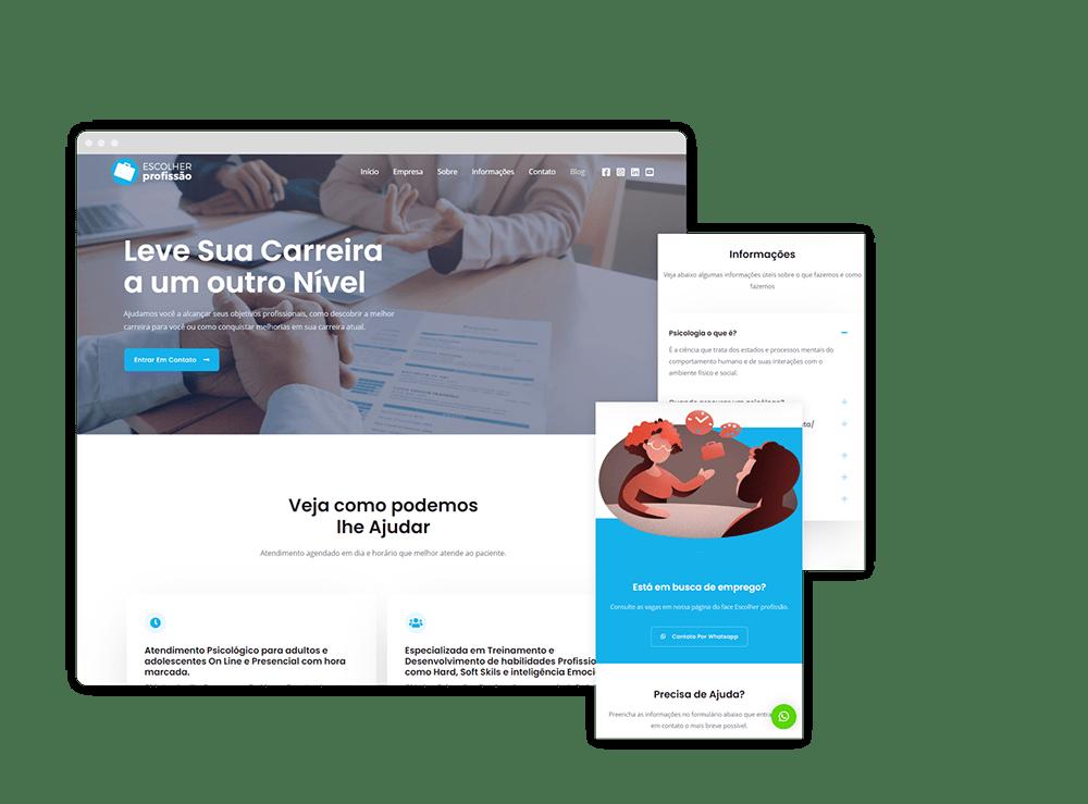 Criação de Landing Pages | GSP Sites 2
